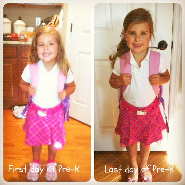 First and Last day of Pre-K