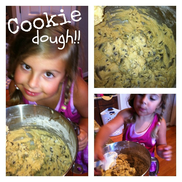 Chocolate Chip cookie dough!