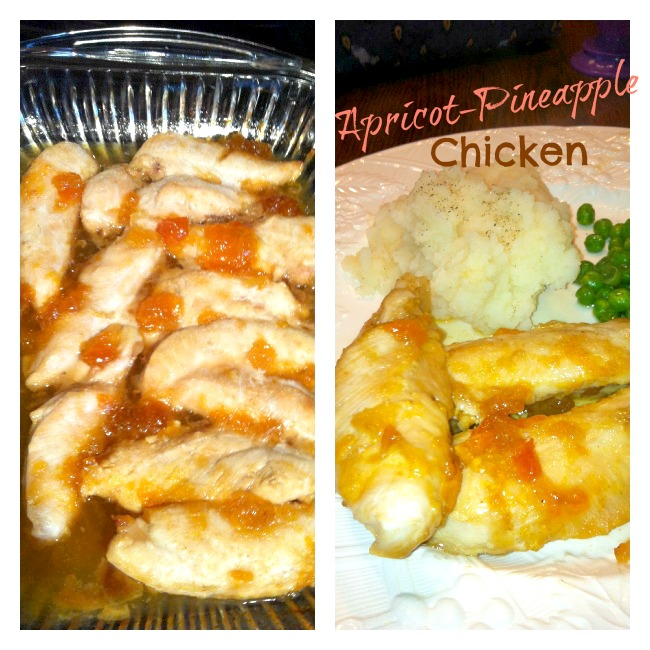 Apricot and Pineapple Chicken