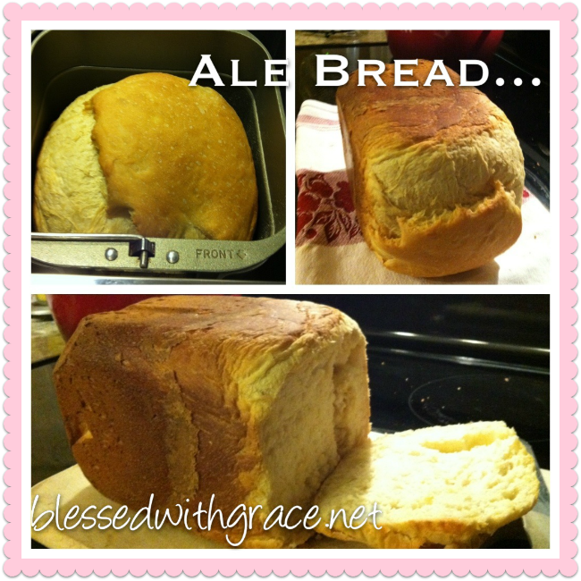 Ale Bread, bread machine recipe
