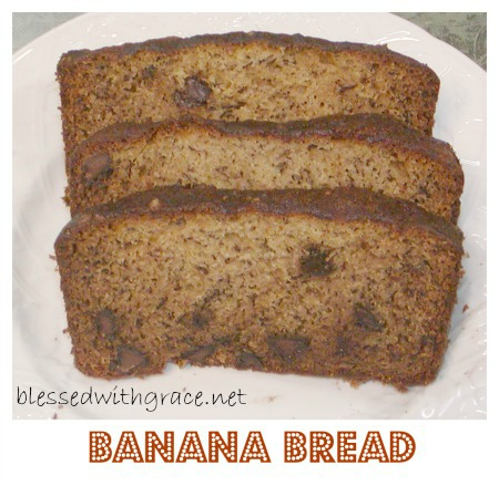 Best Banana Bread at BlessedWithGrace Blog
