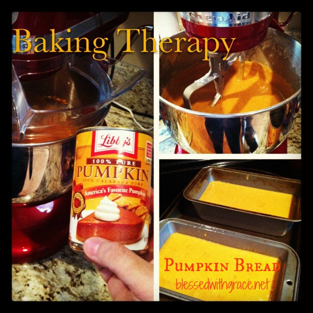 Two pumpkin bread recipes at Blessed With Grace Blog