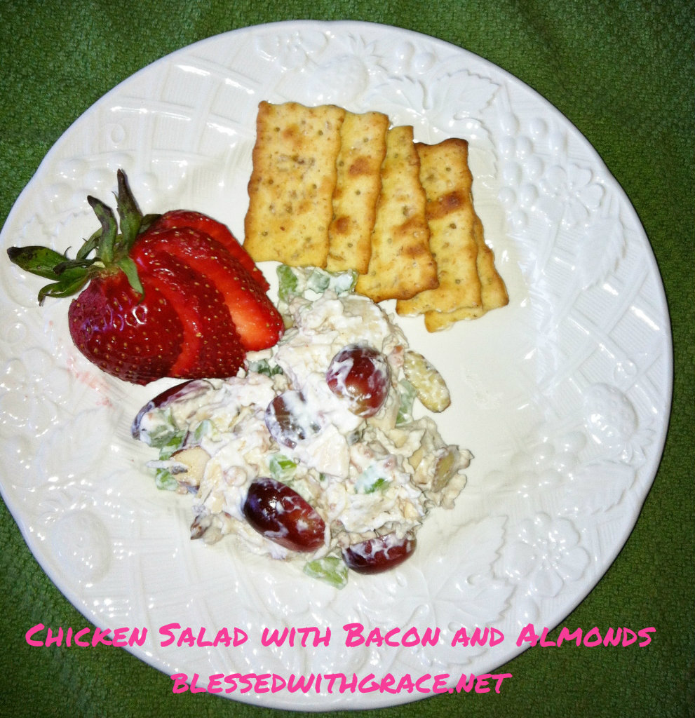 Fabulous Chicken Salad : Blessedwithgrace.net